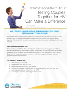 DPTC Testing Together Fact Sheet