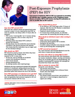 DPH PEP Fact Sheet
